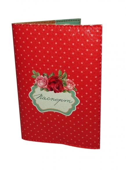Фото - Обложка на паспорт винтаж розы купить в киеве на подарок, цена, отзывы