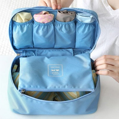 Фото - Органайзер для белья Monopoly Travel underwear pouch голубой купить в киеве на подарок, цена, отзывы