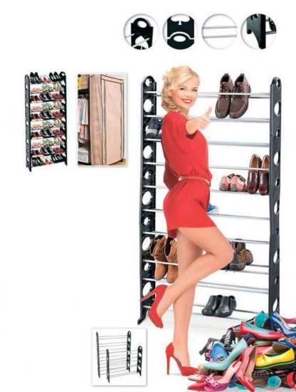 Фото - Органайзер для обуви модульный на 30 пар Shoe Organizer купить в киеве на подарок, цена, отзывы