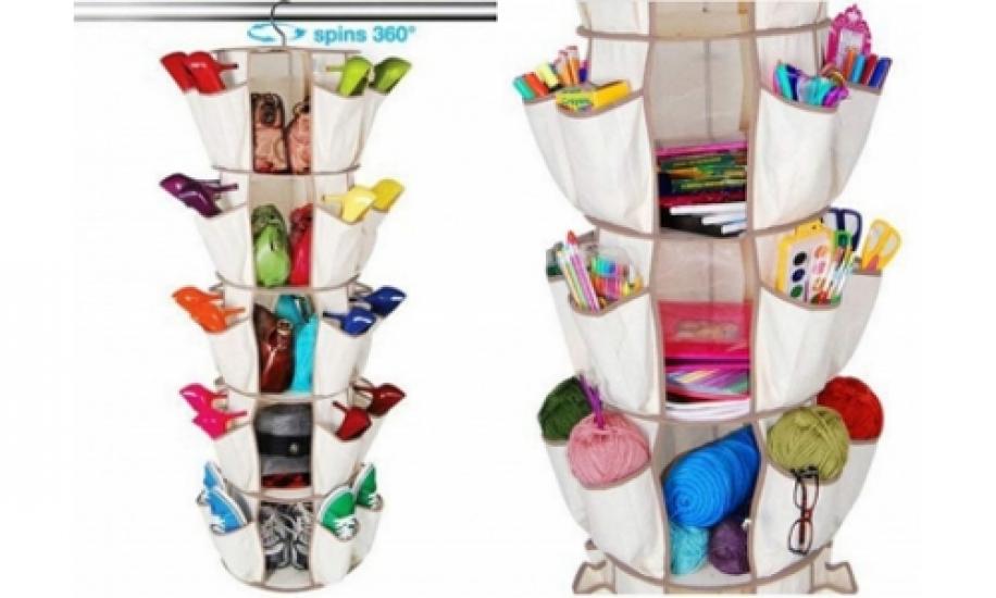 Фото - Органайзер карусель для обуви и одежды купить в киеве на подарок, цена, отзывы