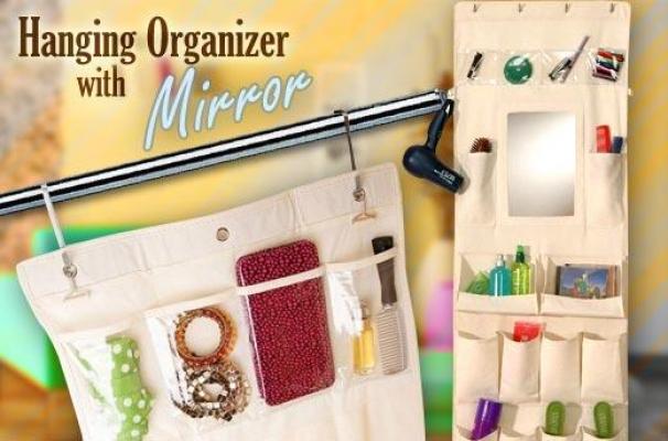 Фото - Органайзер с карманами для ванной комнаты купить в киеве на подарок, цена, отзывы