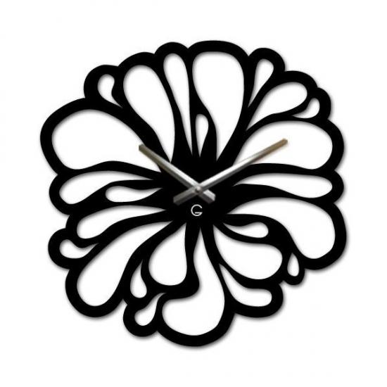 Фото - Оригинальные настенные часы  Flower купить в киеве на подарок, цена, отзывы