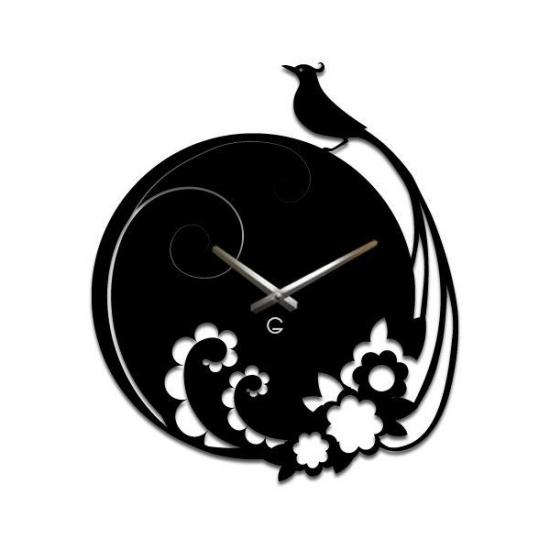 Фото - Оригинальные настенные часы  Peacock купить в киеве на подарок, цена, отзывы