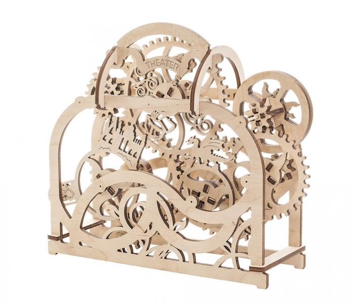 Фото - Пазл Театр механический деревянный купить в киеве на подарок, цена, отзывы