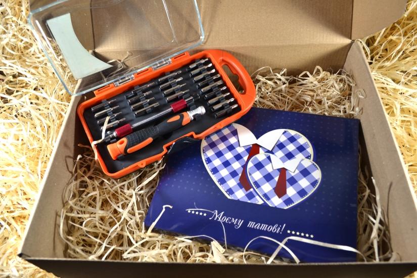 Фото - Подарочный набор Для папы купить в киеве на подарок, цена, отзывы