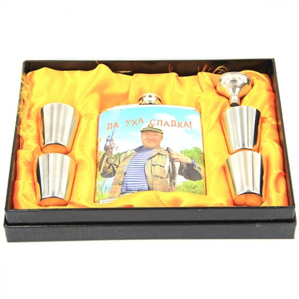 Фото - Подарочный набор Фляга  уха сладка купить в киеве на подарок, цена, отзывы