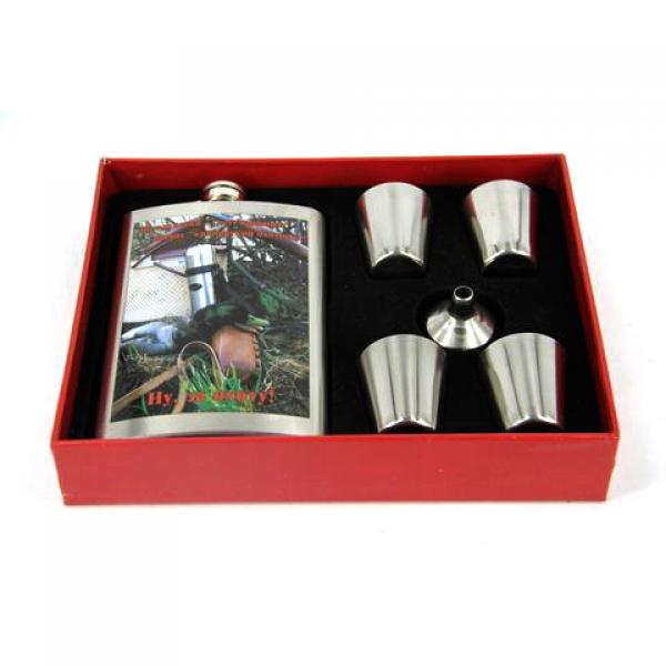 Фото - Подарочный набор Фляга каждый охотник желает знать купить в киеве на подарок, цена, отзывы