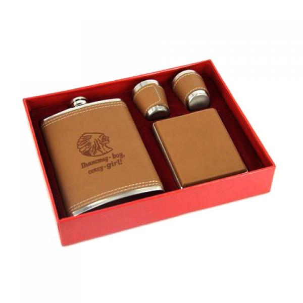 Фото - Подарочный набор Фляга пьянству бой - сексу girl купить в киеве на подарок, цена, отзывы