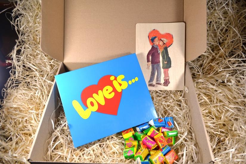 Фото - Подарочный набор Люблю купить в киеве на подарок, цена, отзывы