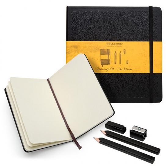 Фото - Подарочный набор Moleskine Drawing Set купить в киеве на подарок, цена, отзывы