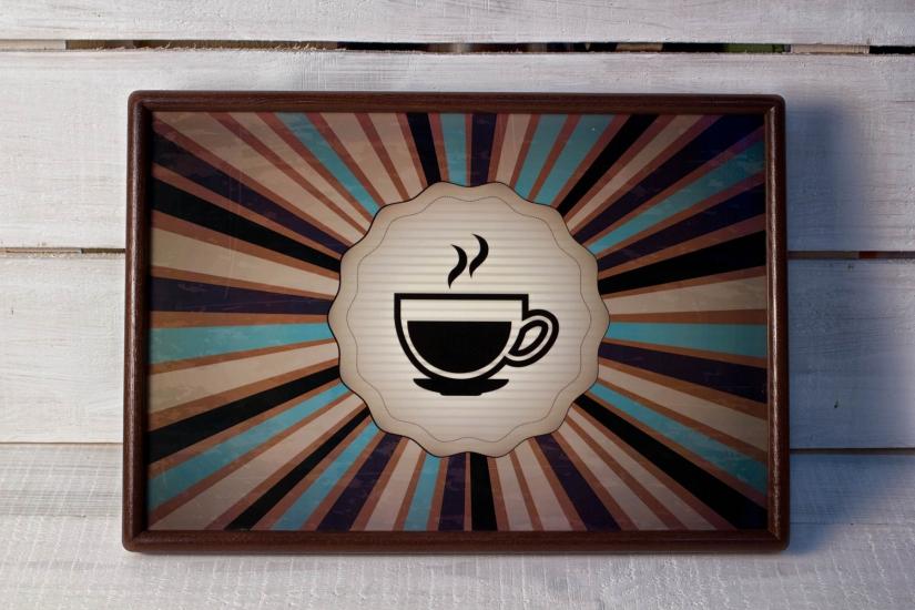 Фото - Поднос с подушкой Чай купить в киеве на подарок, цена, отзывы