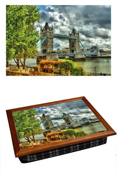 Фото - Поднос с подушкой Мост купить в киеве на подарок, цена, отзывы