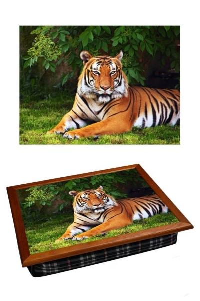 Фото - Поднос с подушкой Тигр  купить в киеве на подарок, цена, отзывы