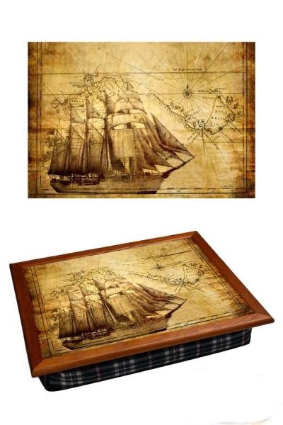 Фото - Поднос с подушкой  Корабль купить в киеве на подарок, цена, отзывы