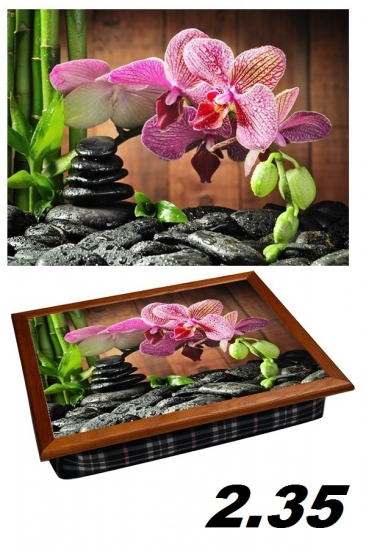 Фото - Поднос с подушкой цветы купить в киеве на подарок, цена, отзывы