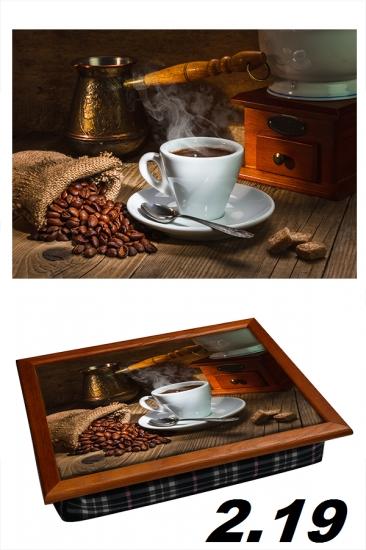 Фото - Поднос с подушкой любимый кофе купить в киеве на подарок, цена, отзывы