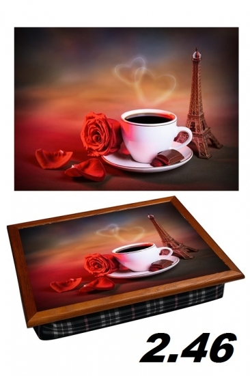 Фото - Поднос с подушкой любовь в париже купить в киеве на подарок, цена, отзывы