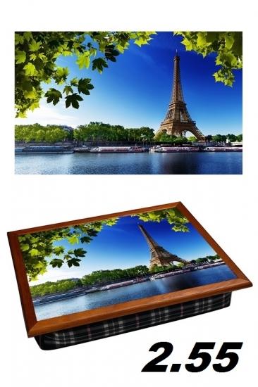 Фото - Поднос с подушкой утро в париже купить в киеве на подарок, цена, отзывы