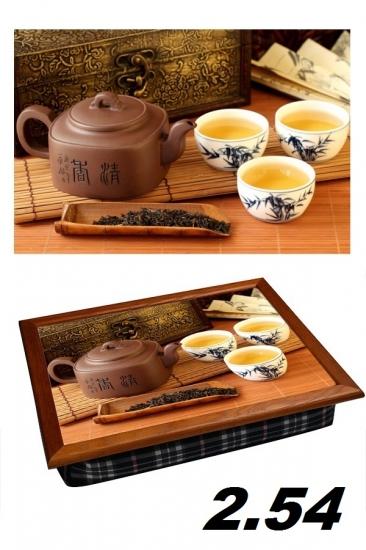 Фото - Поднос с подушкой вкусный чай купить в киеве на подарок, цена, отзывы