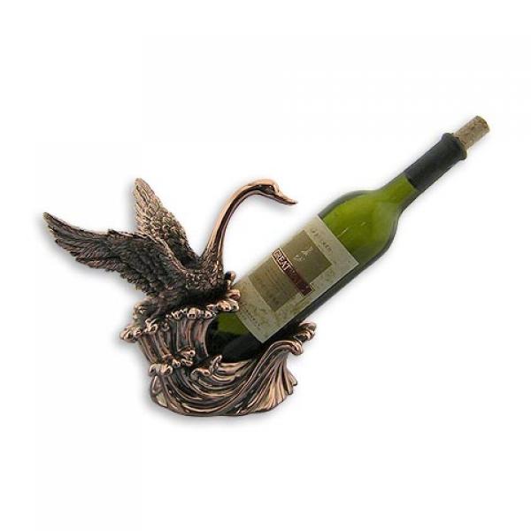 Фото - Подставка под бутылку лебедь купить в киеве на подарок, цена, отзывы