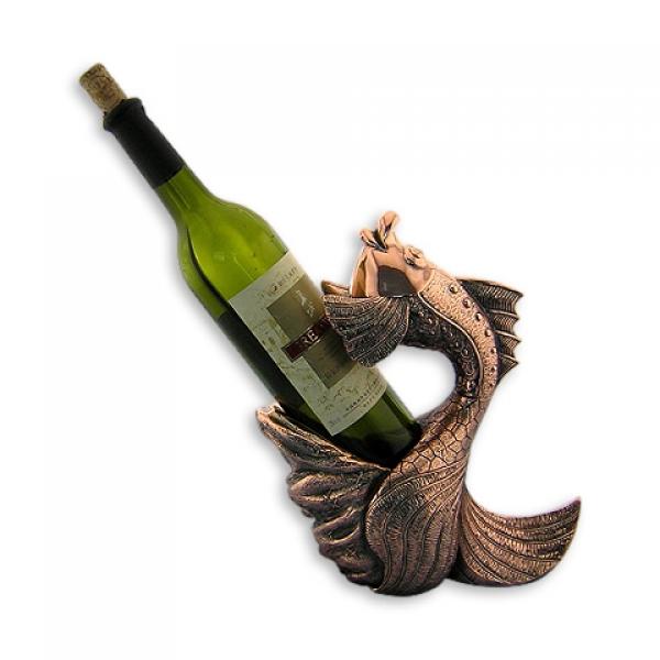 Фото - Подставка под бутылку золотая рыбка купить в киеве на подарок, цена, отзывы