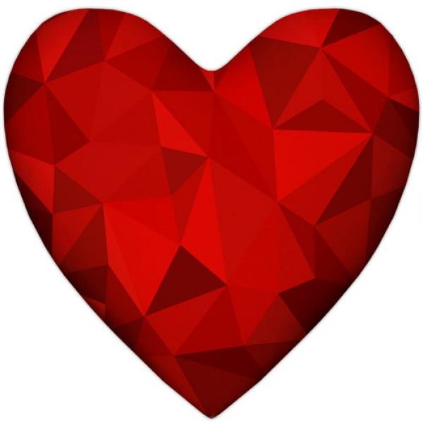 Фото - Подушка-сердце 3D купить в киеве на подарок, цена, отзывы