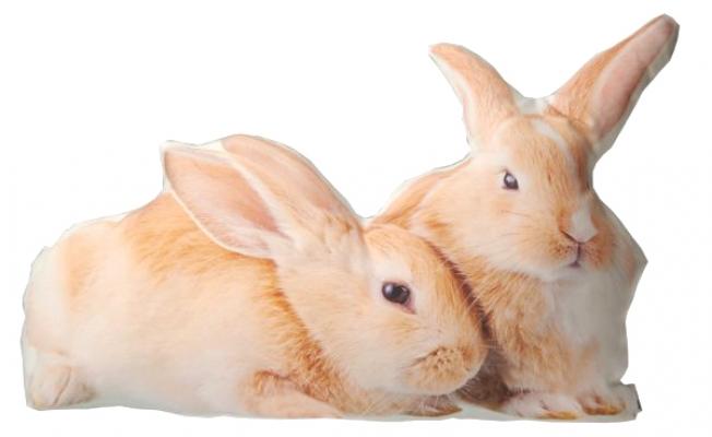 Фото - Подушка Кролики купить в киеве на подарок, цена, отзывы