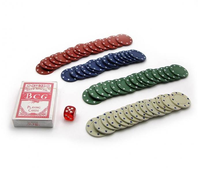 Фото - Покерный набор на 60 фишек в блистере купить в киеве на подарок, цена, отзывы