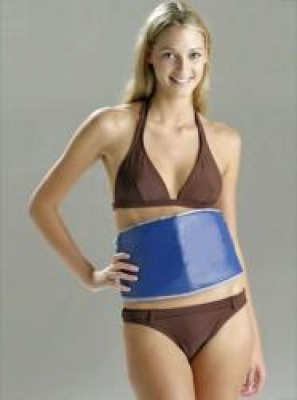 Фото - Пояс для похудения синий САУНА купить в киеве на подарок, цена, отзывы