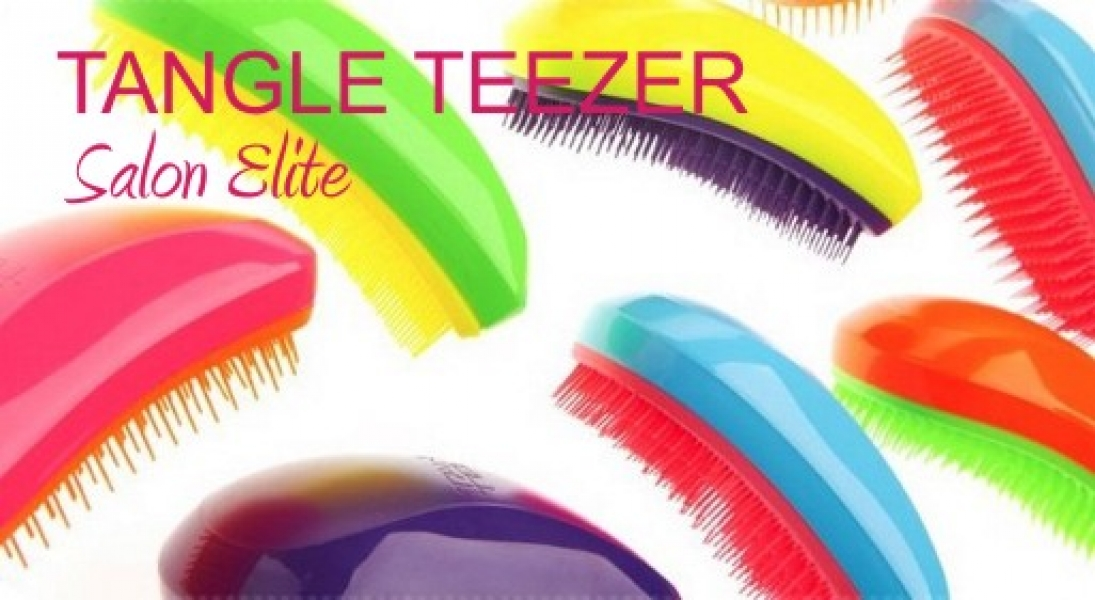 Фото - Расческа для волос Tangle Teezers Salon Elit купить в киеве на подарок, цена, отзывы