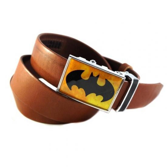 Фото - Ремень Бетмен коричневый купить в киеве на подарок, цена, отзывы