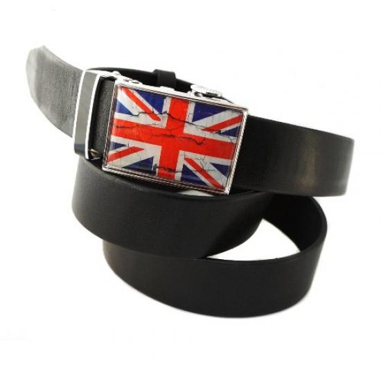 Фото - Ремень Британский флаг черный купить в киеве на подарок, цена, отзывы