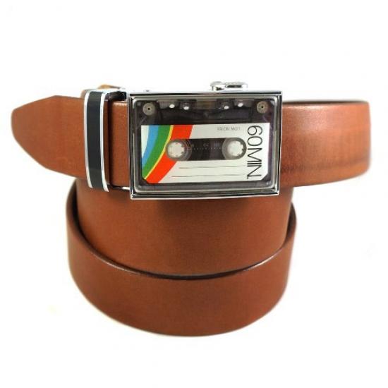 Фото - Ремень Кассета коричневый  купить в киеве на подарок, цена, отзывы