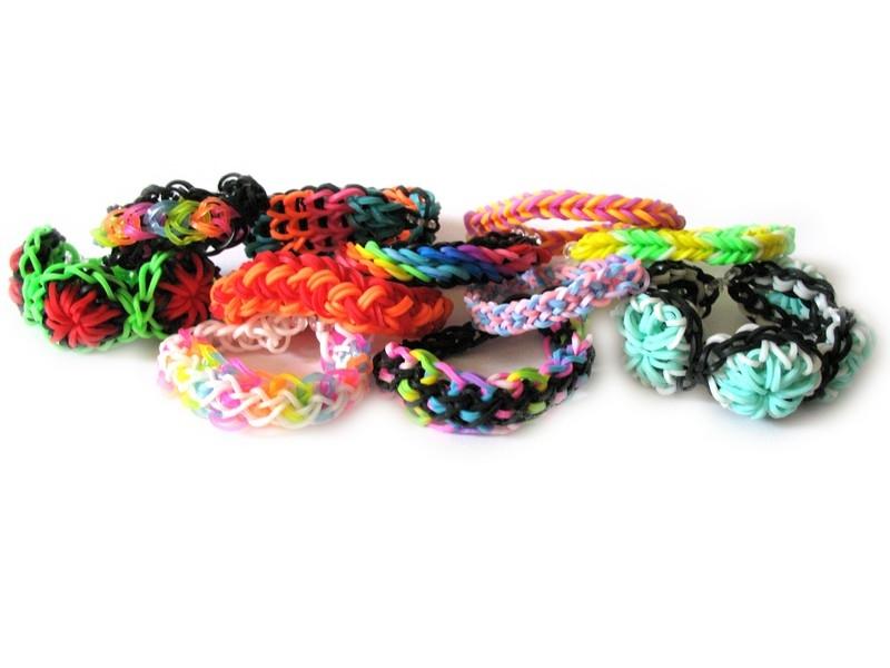 Фото - Резиночки для плетения браслетов купить в киеве на подарок, цена, отзывы