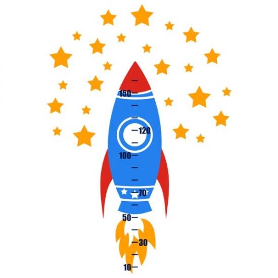 Фото - Ростомер Виниловый Rocket купить в киеве на подарок, цена, отзывы