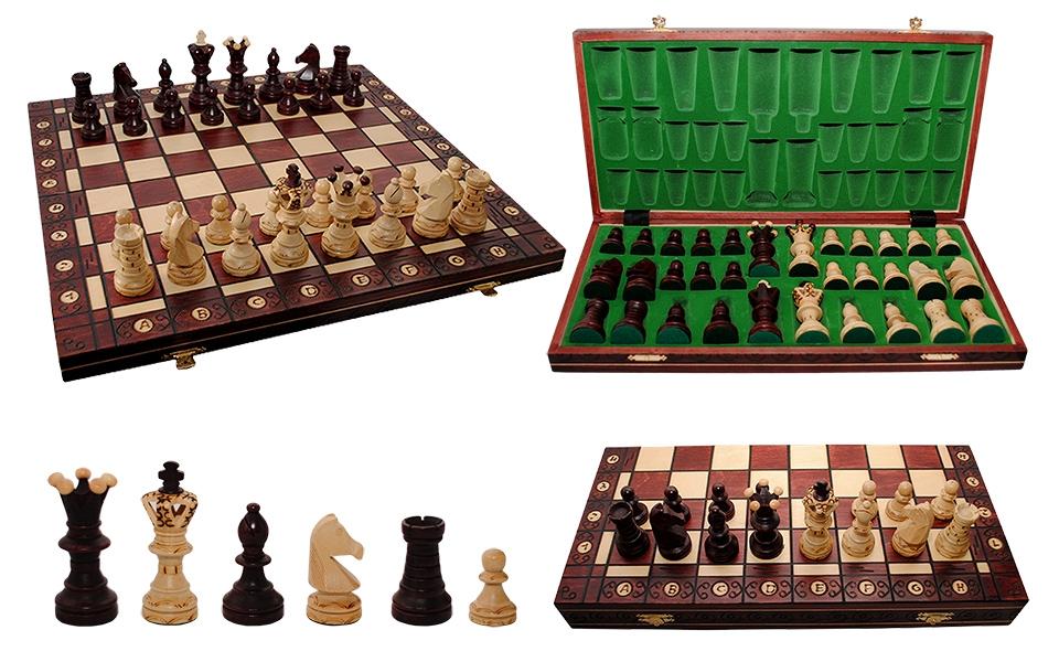 Фото - Шахматы Ambassador Махагон купить в киеве на подарок, цена, отзывы