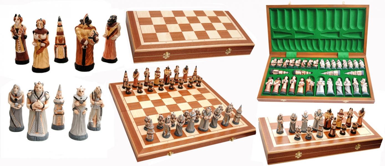 Фото - Шахматы FANTAZY Intarsia купить в киеве на подарок, цена, отзывы