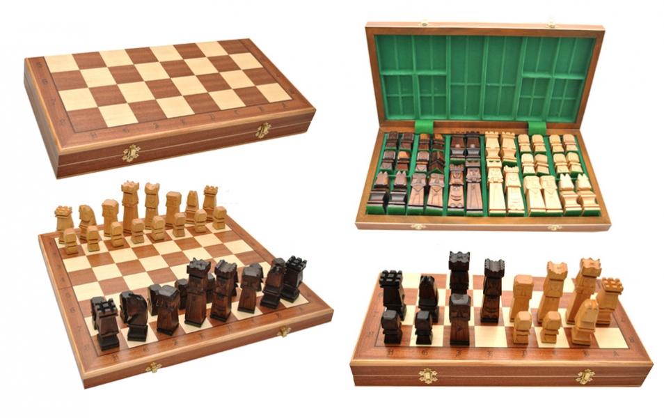 Фото - Шахматы ORAWA Intarsia купить в киеве на подарок, цена, отзывы