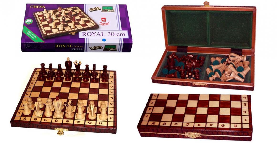 Фото - Шахматы Royal 30 купить в киеве на подарок, цена, отзывы