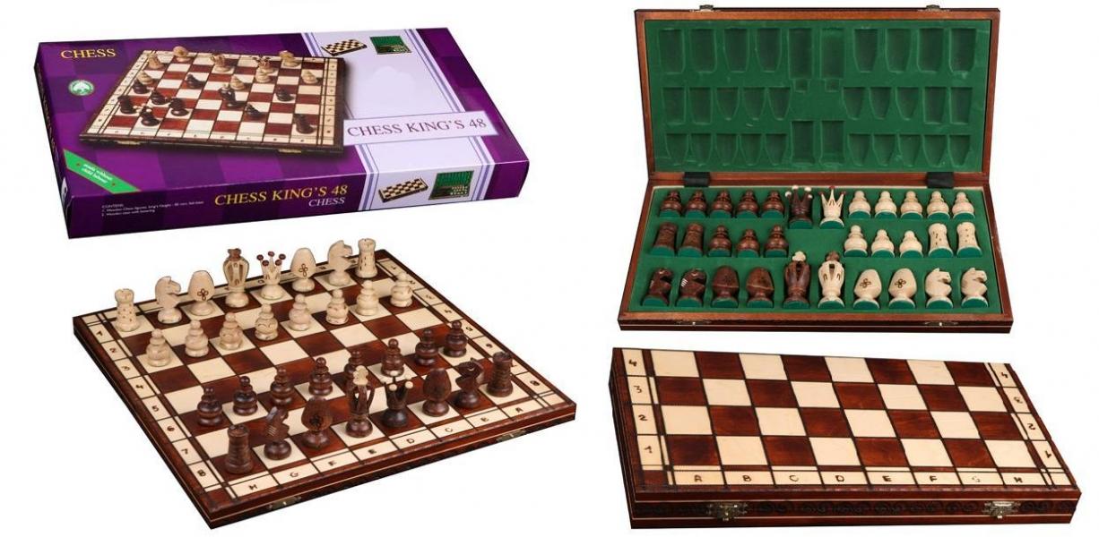 Фото - Шахматы Royal 48  купить в киеве на подарок, цена, отзывы
