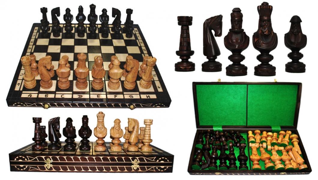 Фото - Шахматы SMALL CEZAR купить в киеве на подарок, цена, отзывы