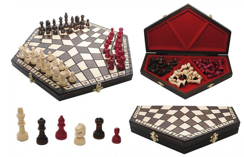 Фото - Шахматы на троих  купить в киеве на подарок, цена, отзывы