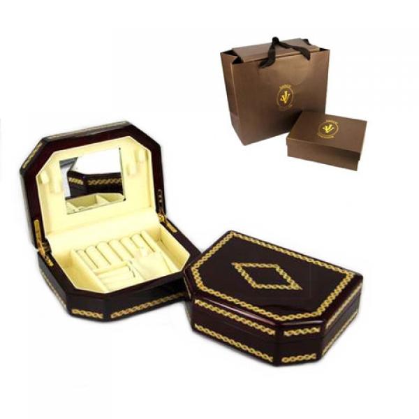 Фото - Шкатулка из дерева темно коричневая купить в киеве на подарок, цена, отзывы
