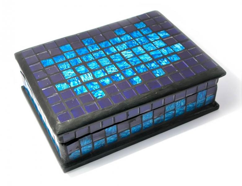 Фото - Шкатулка мозаичная 18Х13Х5,5 купить в киеве на подарок, цена, отзывы