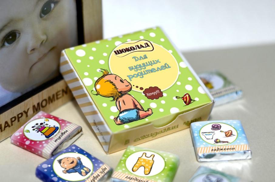 Фото - Шоколадный мини-набор Шоколад для родителей купить в киеве на подарок, цена, отзывы