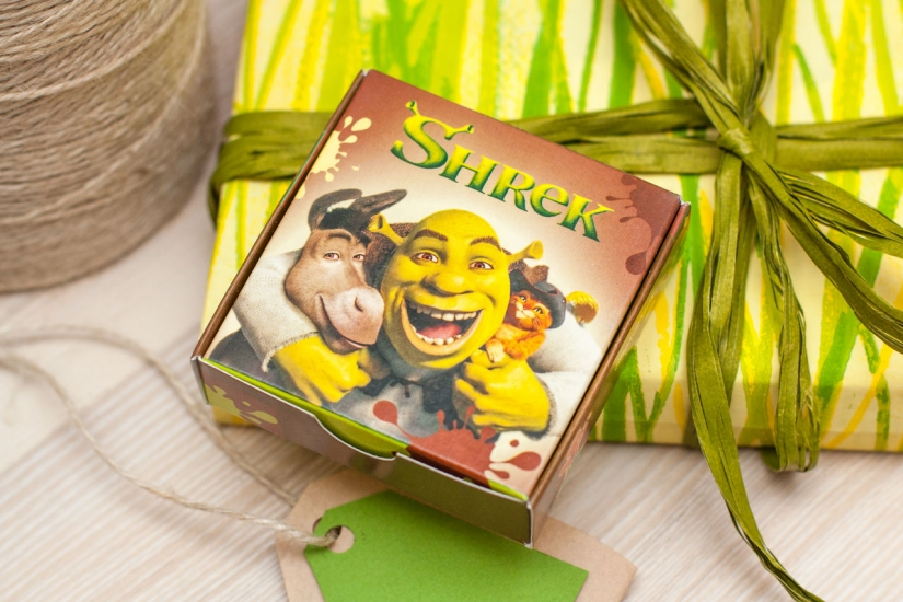 Фото - Шоколадный мини-набор Шрек купить в киеве на подарок, цена, отзывы