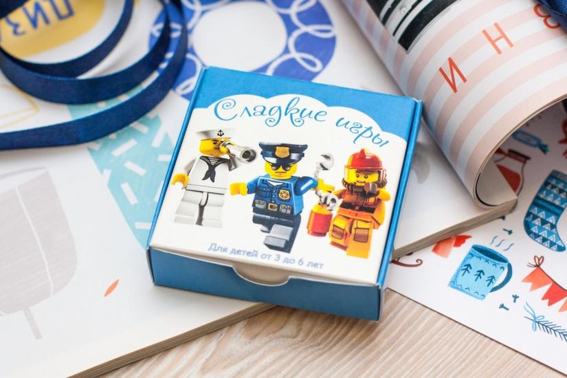 Фото - Шоколадный мини-набор Сладкие игры купить в киеве на подарок, цена, отзывы