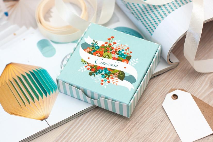 Фото - Шоколадный набор Цветочное Спасибо купить в киеве на подарок, цена, отзывы