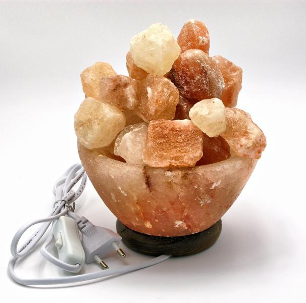Фото - Соляная лампа Чаша огня (29х16х10 см) купить в киеве на подарок, цена, отзывы