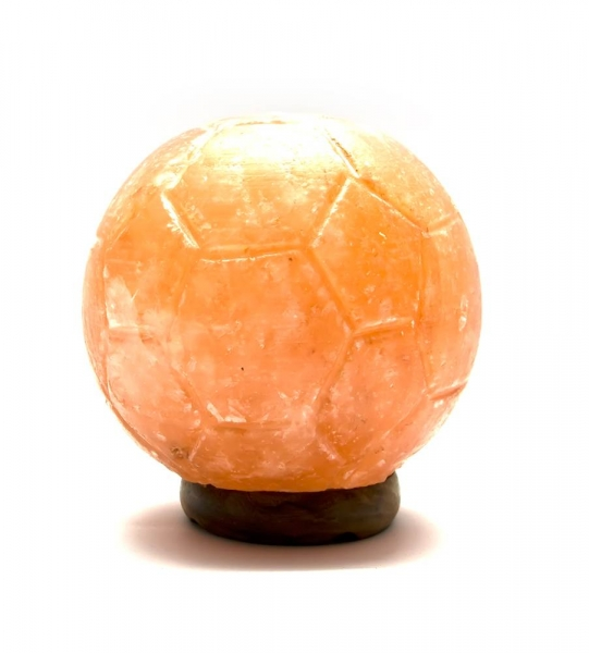 Фото - Соляная лампа Футбольный МЯЧ (12Х10,5Х10,5 см) купить в киеве на подарок, цена, отзывы